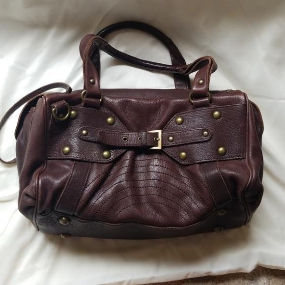 BCBGirls Handbags - BCB Girls hand Bag leather